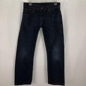 Levi's 514 32 x 30 Slim Straight Five Pocket  jean